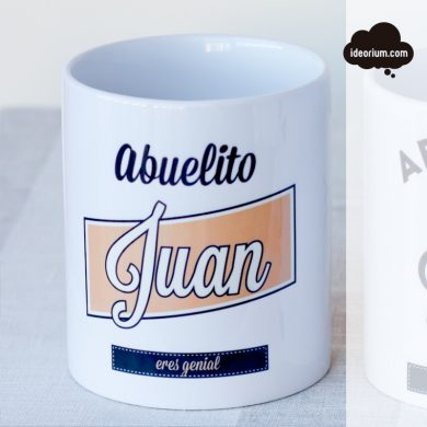 Taza Abuelito color ocre