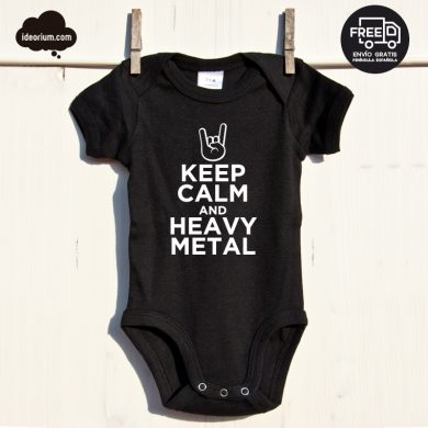 Body Keep Calm and Heavy Metal