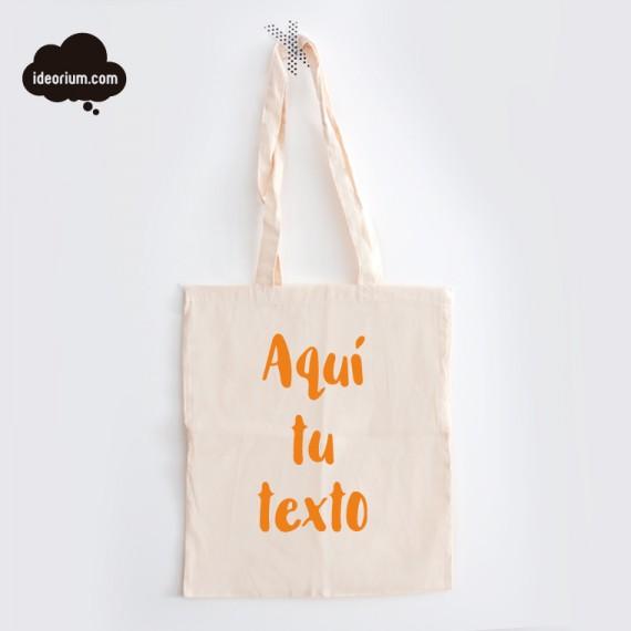Tote Bag Orgánica Personalizada