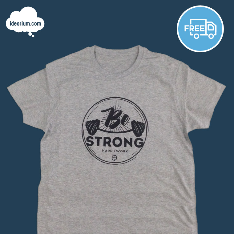ideorium-be-strong-gris-negro