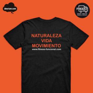 camiseta fitness funcional