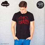 camiseta run stranger things