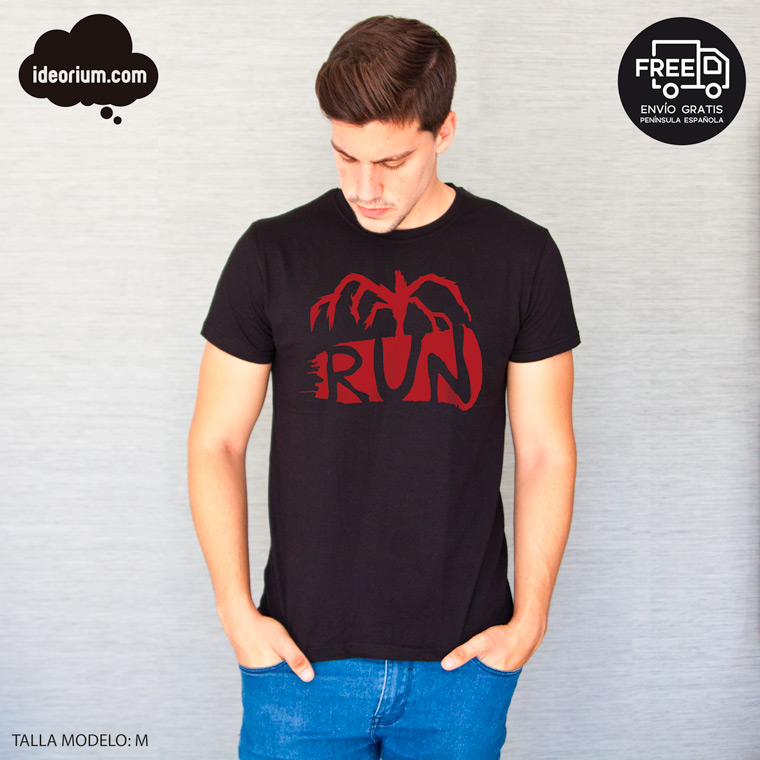camiseta run stranger things