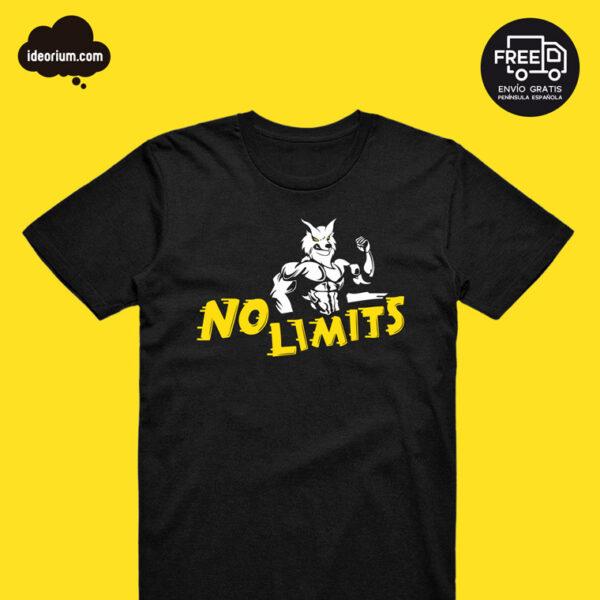 Camiseta No Limits Fitness