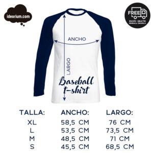 Camiseta baseball Ideorium