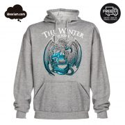 Sudadera gris The Winter is Here