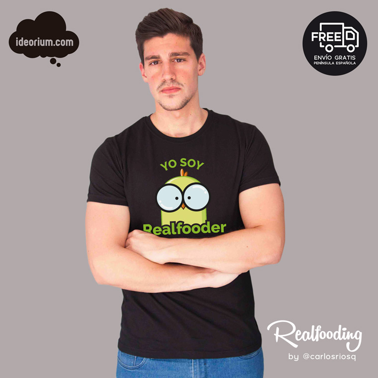 Camiseta Yo soy Realfooder