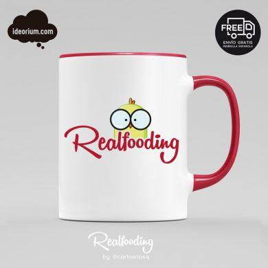Taza Realfooding roja