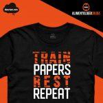 Camiseta train