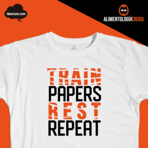Camiseta train papers