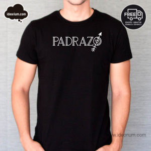 Camiseta padrazo color negro