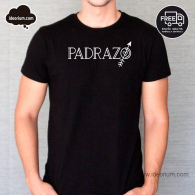 Camiseta padrazo color negro
