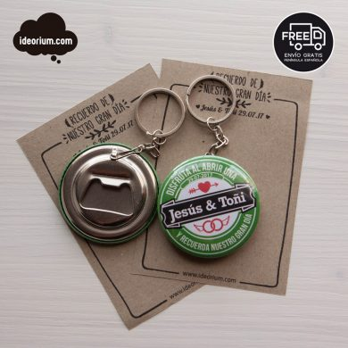 Llavero-Abridor Heineken-Pack 100