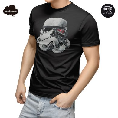 Camiseta Star Wars Terminator