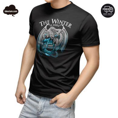 Camiseta the winter is here