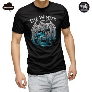 Camiseta the winter is here.
