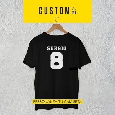 Camiseta personalizada Nombre y Número 02