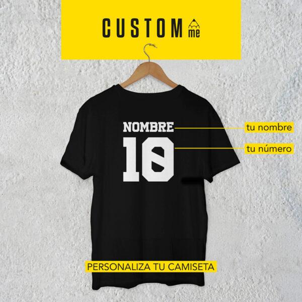 Camiseta personalizada Nombre y Número
