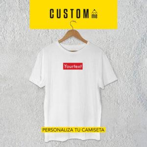 Camiseta personalizada Suprema