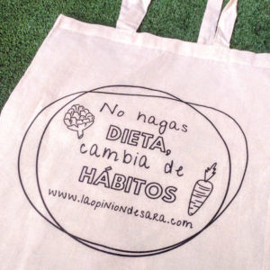 Tote bag no hagas dieta