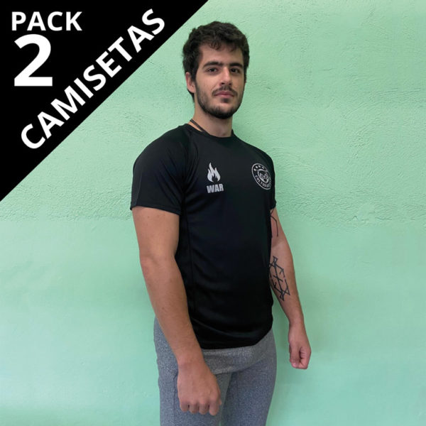 Pack 2 Camisetas Cultura de Gym